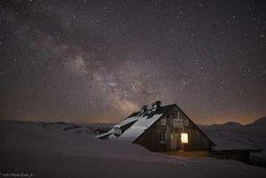 Lodge Krippenstein Nachthimmel
