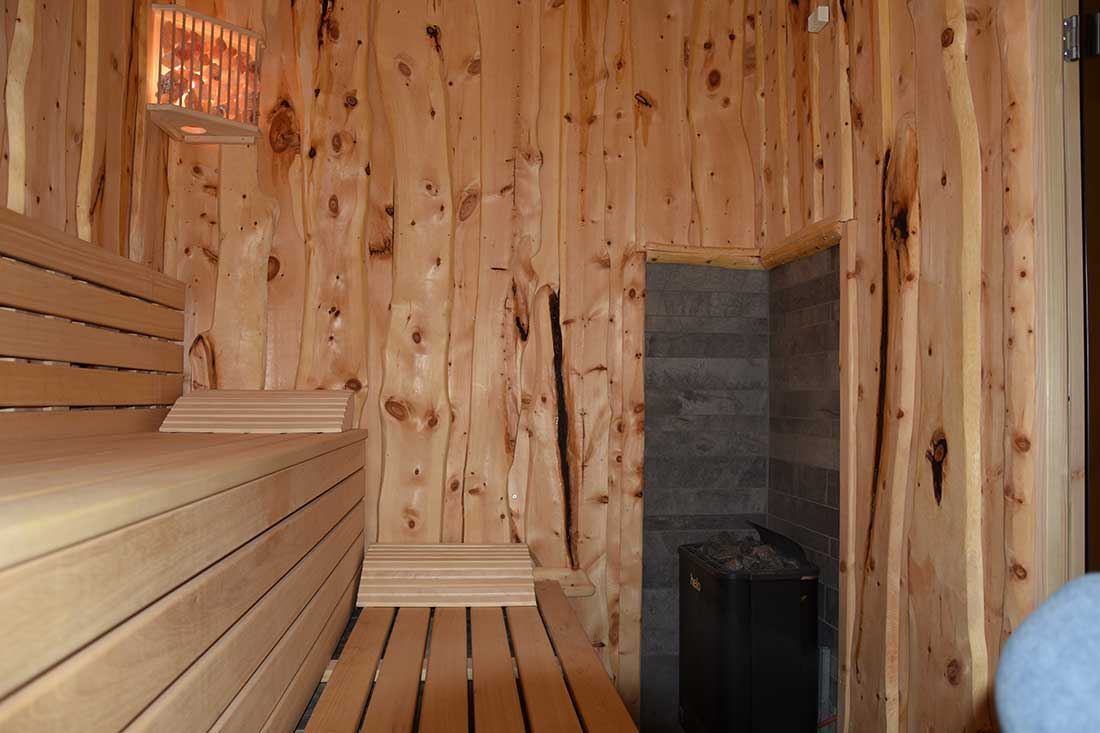 Lodge Suite Sauna