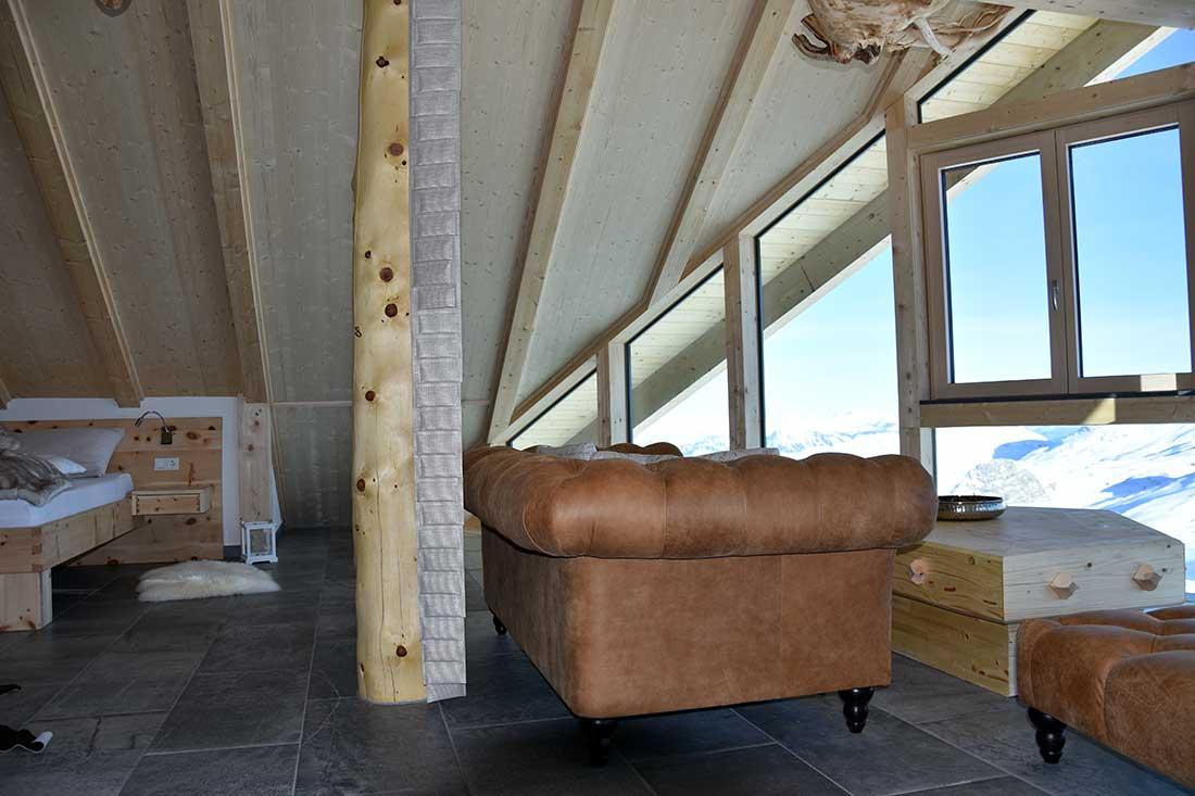 Lodge Suite Wohnraum
