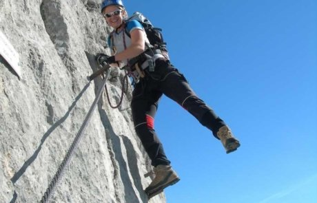 Lodge Krippenstein - climbing routes